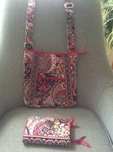 Vera Bradley NEW Hipster and Wallet in Very Berry Pattern in Fort Belvoir, Virginia