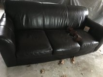 Leather sofa in Chicago, Illinois
