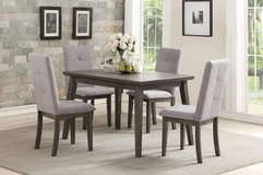 INVENTORYSALE! URBAN 5PC GREY QUALITY DINING SET!:) in Camp Pendleton, California