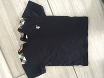 Boys Burberry tee navy 3Y (runs about a 2T) in Naperville, Illinois