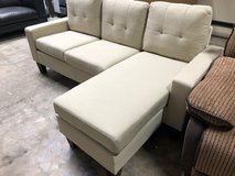 BRAND NEW! URBAN BEIGE SOFA CHAISE SECTIONAL in Camp Pendleton, California