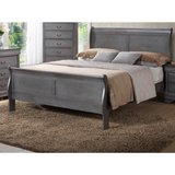INVENTORY SALE:) QUALITY SOLID WOOD GREY FINISHED KING BEDFRAME in Camp Pendleton, California