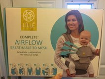 Lille baby 6 in 1 airflow complete baby carrier in anchor print in Elgin, Illinois