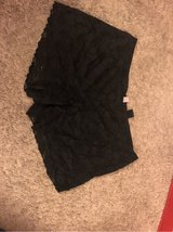black lace shorts in Vacaville, California