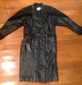 Women's Pelle Studio lined long black leather suede coat XS in Camp Lejeune, North Carolina