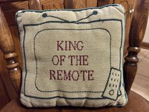 TV King of the Remote Pillow Holder in Glendale Heights, Illinois