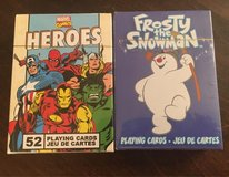Heroes/Frosty Playing Cards in Yorkville, Illinois