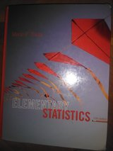 Elementary Statistics - Triola in Fort Campbell, Kentucky