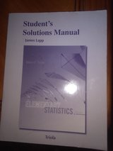 Student's Solutions for Elementary Statistics - Lapp in Fort Campbell, Kentucky