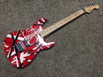 EVH Striped Series Electric Guitar with Floyd Rose in Okinawa, Japan