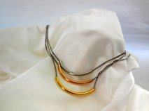 Fossil Tri Color Tube Necklace New in Fort Rucker, Alabama