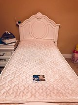 Beautiful Flawless-Twin White Bed- Serta mattress/box spring sold separately in Warner Robins, Georgia
