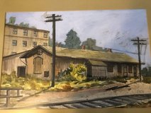 watercolor picture in Kingwood, Texas