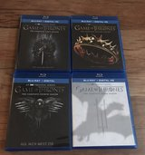 Game of Thrones seasons 1 - 4 Blue Ray in Alamogordo, New Mexico