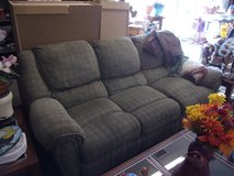 Three Cushion Sofa with Dual Recliners in Fort Riley, Kansas