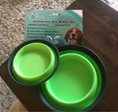 Collapsible Pet Bowl Set in Joliet, Illinois