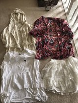 Girls Abercrombie 15/16 shirts and skirt in Plainfield, Illinois