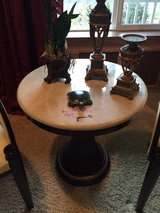 Accent table with two arm chairs in Fort Lewis, Washington