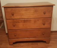 Solid Maple 3-drawer Chest  (2) in Camp Lejeune, North Carolina