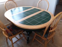 NICE WELL BUILT KITCHEN TABLE & CHAIRS in 29 Palms, California