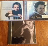 CD Lot Clay Aiken Measure of a Man Merry Christmas with Love Mark Schultz in Camp Lejeune, North Carolina