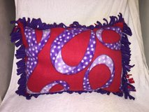 Red and Purple Lg. Pillow in Camp Lejeune, North Carolina