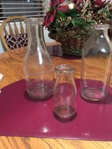 ***** ANTIQUE GLASS MILK BOTTLES ***** in Tacoma, Washington
