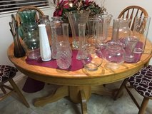 *~* 19 GLASS VASES - VARIOUS SIZES *~* in Fort Lewis, Washington
