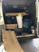 INSTANT JUNK REMOVAL TRASH HAULING, GARAGE AND DEBRIS DISPOSAL in Ramstein, Germany