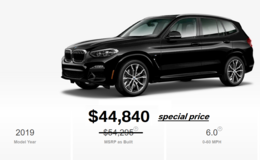 2019 BMW X3 xDrive30i MSport - Available in stock in Aviano, IT