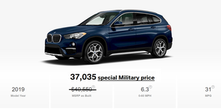 2019 BMW X1 xDrive28i - available in stock in Vicenza, Italy