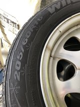 BMW Winter Tires 205/60 R15 in Ramstein, Germany