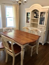 China cabinet and farmhouse style table in Fort Knox, Kentucky