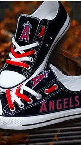 Angel's shoes in Camp Pendleton, California