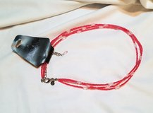 """NWT VJ 18"""" Necklace Pink Bead red Multi Strand Choker in Kingwood, Texas"""