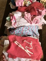 A Starter Bundle of Infant thru 3mo old Girl  clothes in Houston, Texas