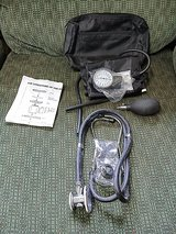 Sprague & Rappaport stethoscope w/ adult arm cuff in Fort Knox, Kentucky