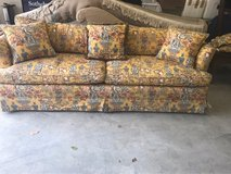 couch, pillow and valance in Houston, Texas