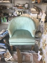 small round back chair on casters in Kingwood, Texas
