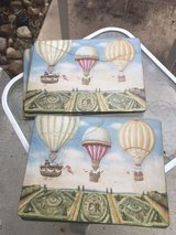 hot air balloon placemats, 6 in Kingwood, Texas