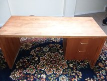 Solid wood desk. in Clarksville, Tennessee