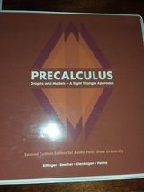 APSU Pre-calculus text book in Fort Campbell, Kentucky
