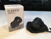 Rokinon 24 mm F3.5 Full Frame Tilt-Shift Lens for Canon EOS in DeKalb, Illinois