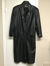 Beautiful Black Lether Coat in Kingwood, Texas