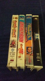 VHS children's movies (lot 5) in Houston, Texas