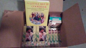 """Little House on the Prairie"" tapes and cookbook (lot 14) in Baytown, Texas"
