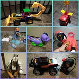 Toys mostly used in bookoo, US