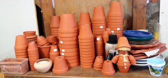 Small Terracotta clay pots in different sizes- NEW! in Spangdahlem, Germany