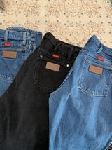 Three Pairs Ladies Wrangler Jeans 11 x 36 in The Woodlands, Texas