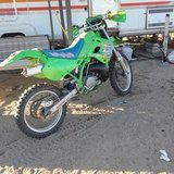 Kdx 250 in Yucca Valley, California